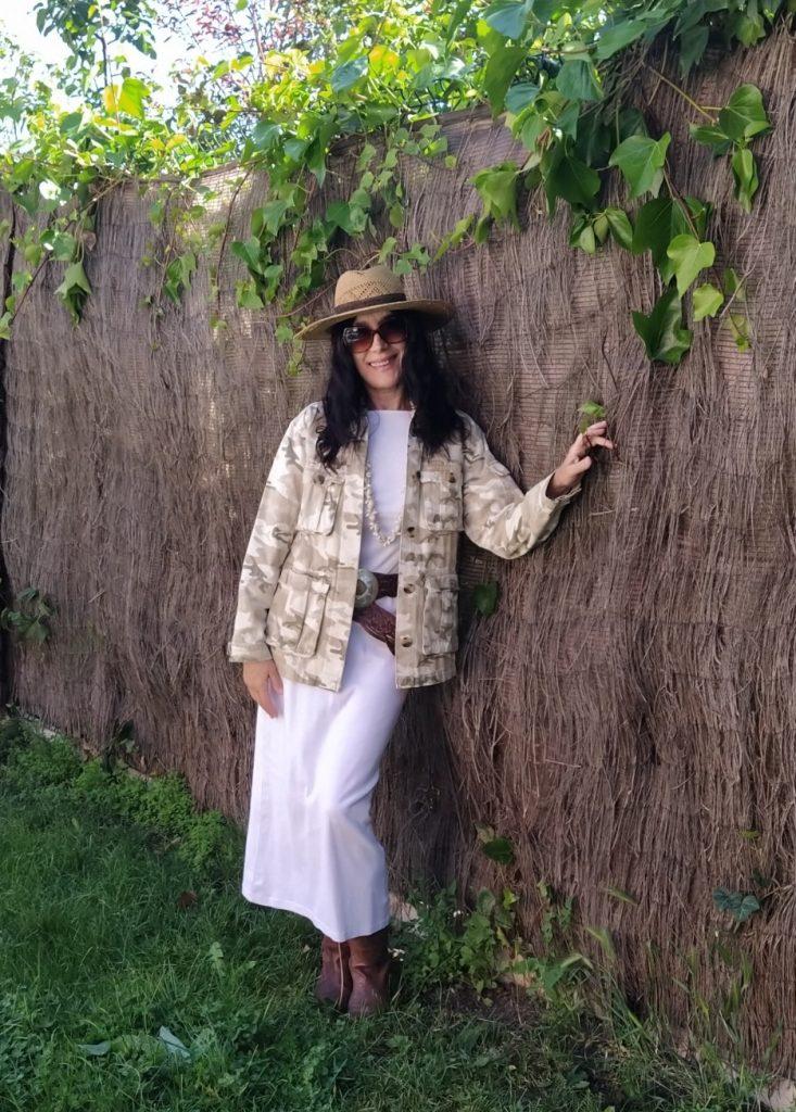 chaqueta sahariana