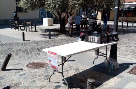 Los días 29 y 30 se recogen los alimentos para los más necesitados en Aravaca