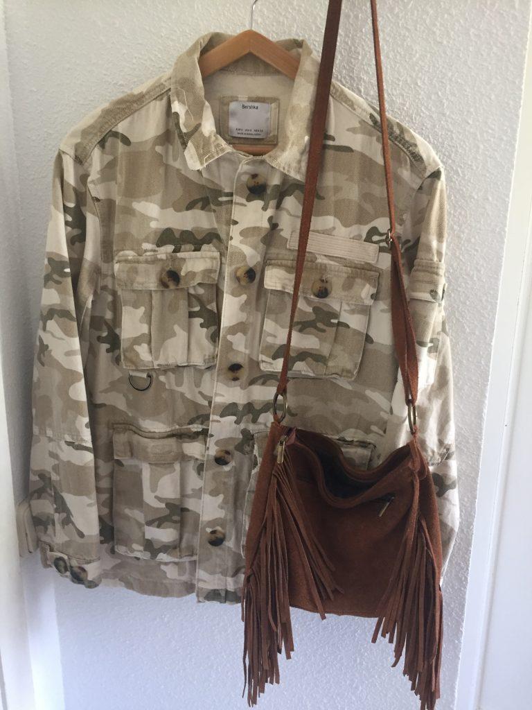 chaqueta sahariana mujer