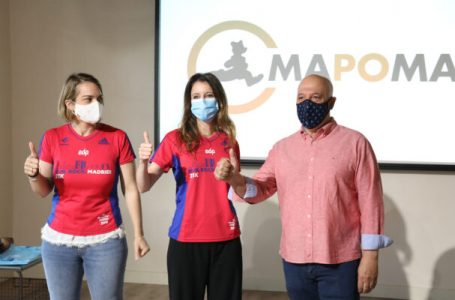 """Loreto Sordo, concejala de Aravaca, interviene en el proyecto solidario """"2 kilos =1 camiseta"""""""