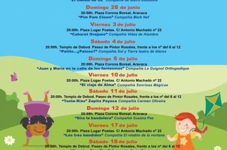 Cine y actividades para toda la familia este verano en Moncloa-Aravaca