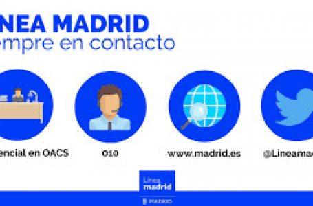 El 8 de junio abrirán las 26 oficinas de atención a la ciudadanía de Línea Madrid
