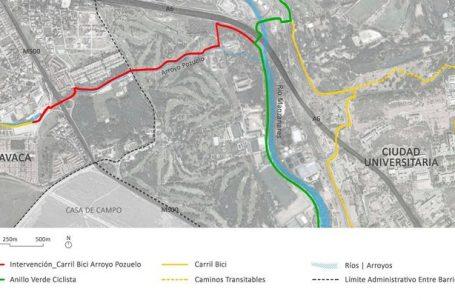 La Asociación de Vecinos de la Osa Mayor propone construir un carril bici que conecte Aravaca y Moncloa