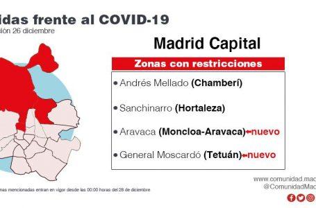 ARAVACA CONFINADA HASTA LAS OO,OO HORAS DEL DÍA 11 DE ENERO DE 2021