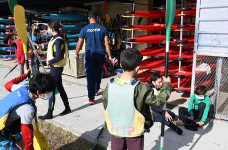 Moncloa-Aravaca estrena escuela de piragüismo en el Parque Deportivo Puerta de Hierro