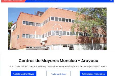 Los centros de mayores de Moncloa-Aravaca estrenan su propia página web