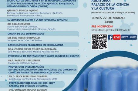 EL DIÓXIDO DE CLORO, PROTAGONISTA EN LA UNIVERSIDAD SAN SIMON DE COCHABAMBA