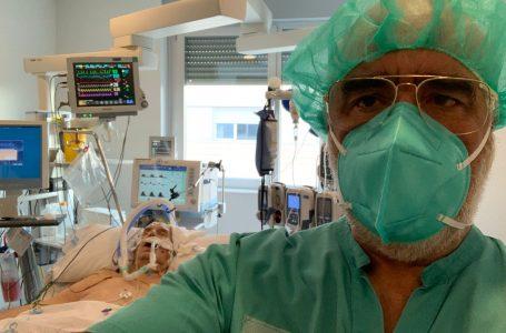De estar en la UCI, sedado e intubado, a estar despierto, el ozono ha devuelto a la vida en 48 horas al farmacéutico Juan Fran Martí. Su médico, el doctor Pérez Olmedo, es el primer sorprendido